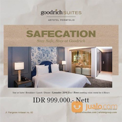 Goodrich Suites Safecation Special Price (25722787) di Kota Jakarta Selatan