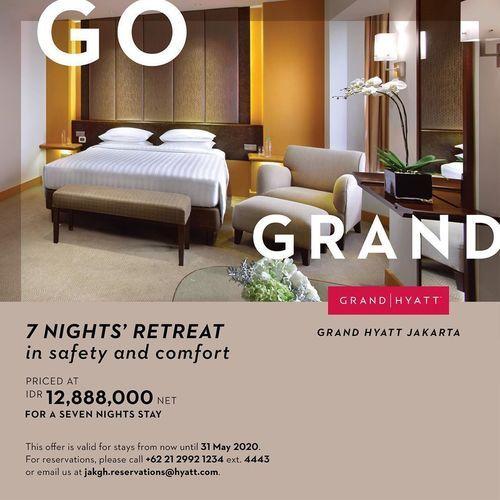 Grand Hyatt Go Grand Special Offer (25722791) di Kota Jakarta Selatan