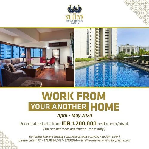 The Sultan Hotel Work From Home Special Price (25722795) di Kota Jakarta Selatan