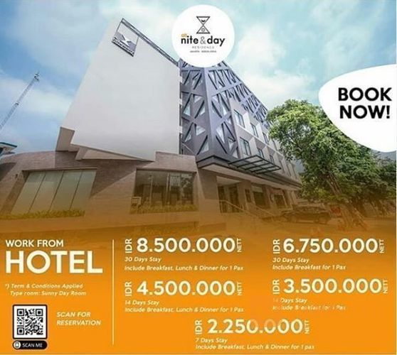 Nite and Day Hotel - Worf From Hotel (25723255) di Kota Jakarta Selatan