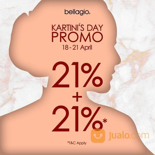 Bellagio Kartini's Day Promo (25723443) di Kota Jakarta Selatan