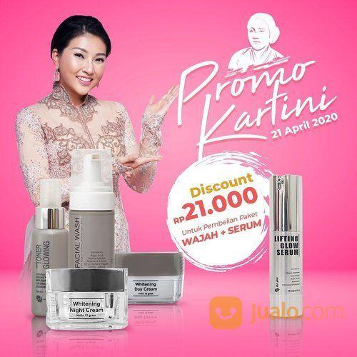 MsGlow Promo Kartini Diskon Rp 21.000 Pembelian Paket Wajah + Serum (25729883) di Kota Jakarta Selatan