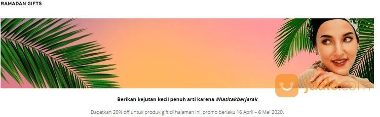 The Body Shop - Promo Ramadhan 20% (25734959) di Kota Jakarta Selatan