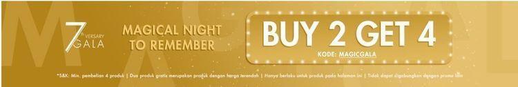 Promo Magical Night To Remember Berrybenka Buy 2 Get 4 (25735343) di Kota Jakarta Selatan