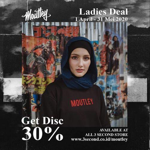 MOUTLEY Get Disc. 30% (25735459) di Kota Jakarta Selatan