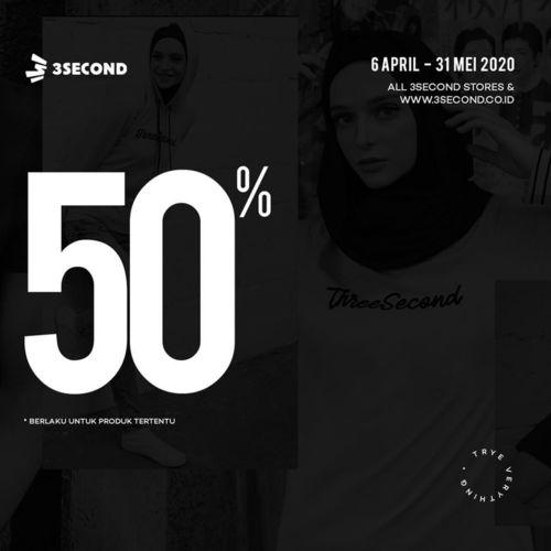 3SECOND Discount 50% (25735559) di Kota Jakarta Selatan