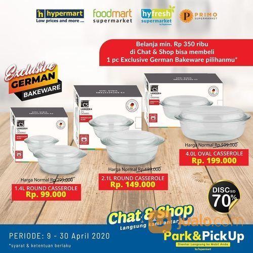 Hypermart Exclusive German Bakeware Disc 70% (25746527) di Kota Jakarta Selatan