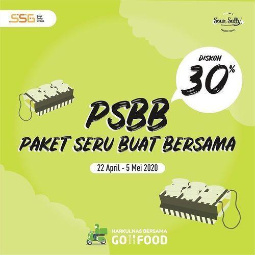 Promo Sour Sally Diskon 30% via Go Food (25748007) di Kota Jakarta Selatan