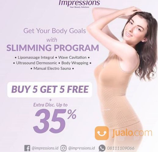Impressions - buy 5 get 5 free + extra discount 35% (25748023) di Kota Jakarta Selatan
