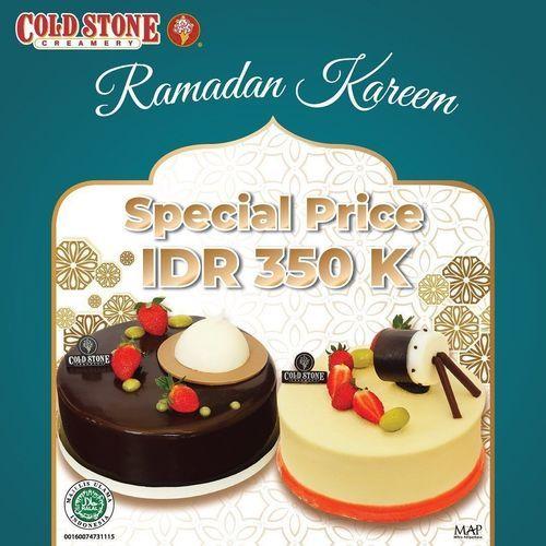 Cold Stone Promo Ramadan SPECIAL PRICE IDR 350.000 (25748147) di Kota Jakarta Selatan