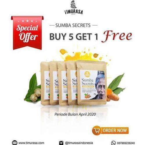 Sumba Secrets - Buy 5 get 1 free (25748151) di Kota Jakarta Selatan