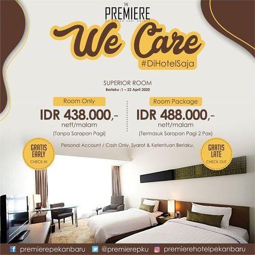 The Premiere Hotel Pekanbaru Paket We Care #DIRUMAHAJA (25748291) di Kota Pekanbaru