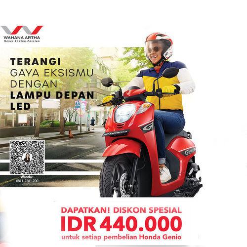 Honda Diskon Spesial Honda Genio (25748311) di Kota Jakarta Selatan