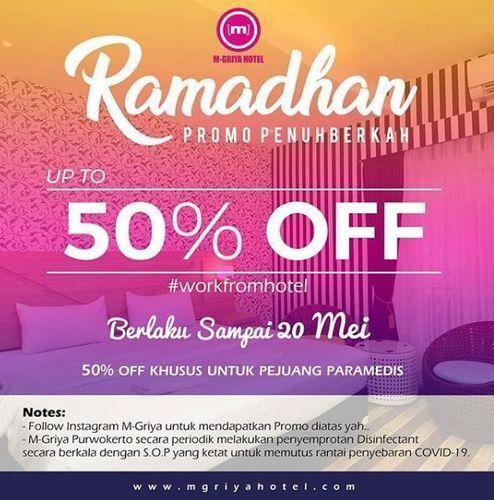 M-Griya Hotel Purwokerto - Promo Ramadhan up to 50% (25748323) di Kota Jakarta Selatan