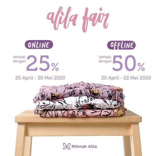 Mihnah Alila Hijab Diskon 25% Online dan DIskon 50% Offline (25756323) di Kota Jakarta Selatan