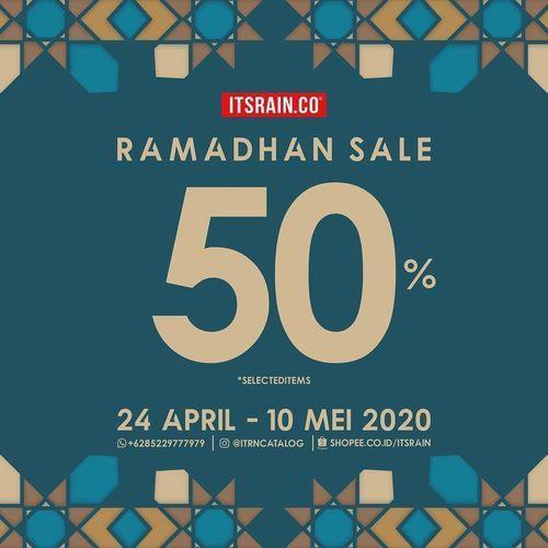 Itsrain.co Ramadhan Sale 50% Diskon *SELECTED ITEMS (25756391) di Kota Jakarta Selatan