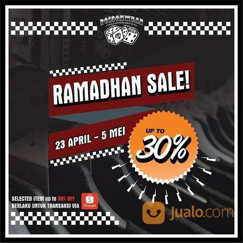 Poisonwear Ramadhan Sale Up To 30% (25756451) di Kota Jakarta Selatan