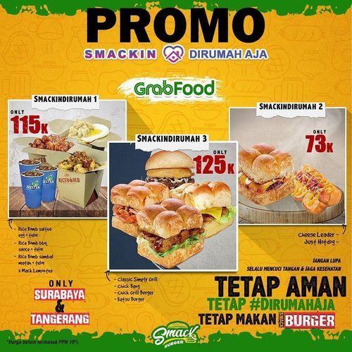 Smack Burger Promo Grabfood (25757811) di Kota Jakarta Selatan