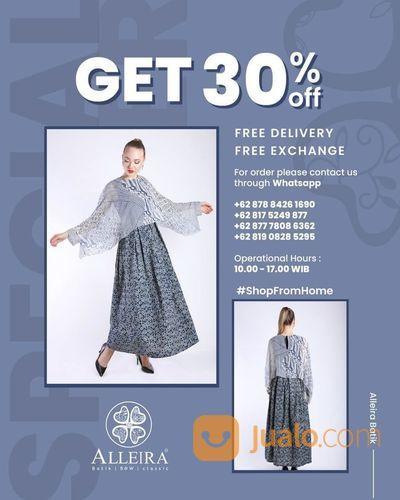 Alleira Batik Get 30% Off (25758275) di Kota Jakarta Selatan