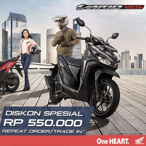 Honda Vario Diskon Spesial Rp. 550.000 Repeat Order/Trade In (25758703) di Kota Jakarta Selatan
