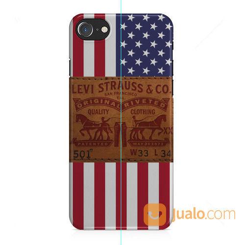 Levi's American Flag IPhone 8 Custom Hard Case (25758983) di Kota Bekasi