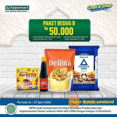 Hypermart Paket Bedug Rp. 50.000 (25770535) di Kota Jakarta Selatan
