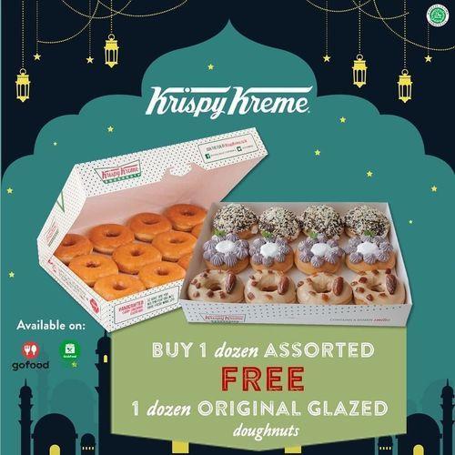 Krispy Kreme Promo Buy 1 Get 1 (25770779) di Kota Jakarta Selatan