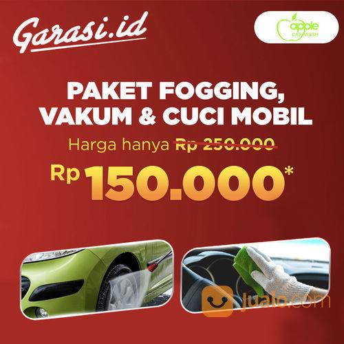 Garasi.id Promo Apple Carwash Jasa Fogging + Vacum Interior + Car Wash (25771335) di Kota Jakarta Selatan