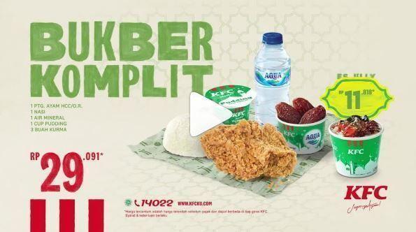 KFC - Promo PAKET BUKBER KOMPLIT (25771671) di Kota Jakarta Selatan