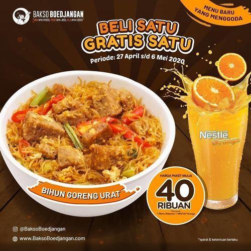 Bakso Boedjangan Beli 1 Gratis 1 (25802155) di Kota Jakarta Selatan