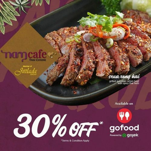 Jittlada Group 30% Off on GoFood (25802351) di Kota Jakarta Selatan