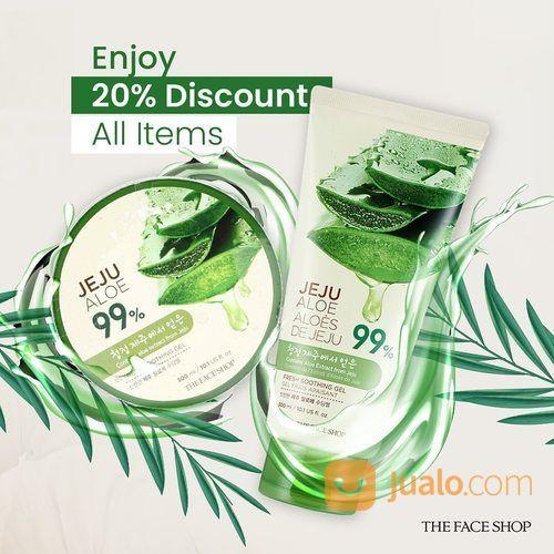 The Face Shop 20% Discount All Items (25802495) di Kota Jakarta Selatan