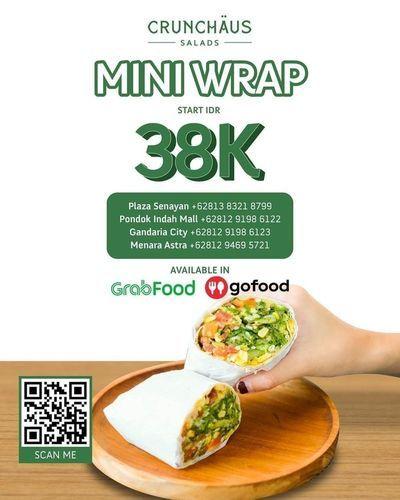 CRUNCHOUS.CO Mini Wrap 38k (25802639) di Kota Jakarta Selatan