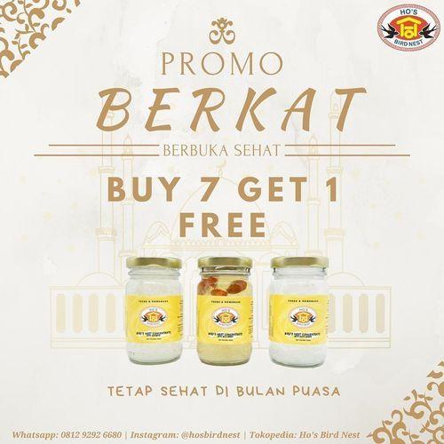 Bird's Nest Drink Promo Berkat Buy 7 Get 1 (25802643) di Kota Jakarta Selatan