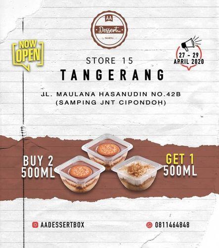 AA Desert Box Promo Buy 2 Free 1 (25802703) di Kota Jakarta Selatan