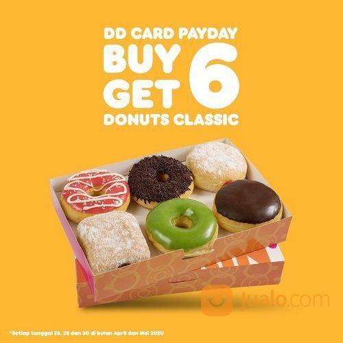 Dunkin' Donuts Buy 6 Get 6 (25802711) di Kota Jakarta Selatan