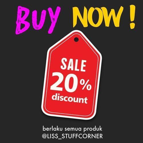 Liss Stuff Corner Sale 20% Discount (25802811) di Kota Jakarta Selatan