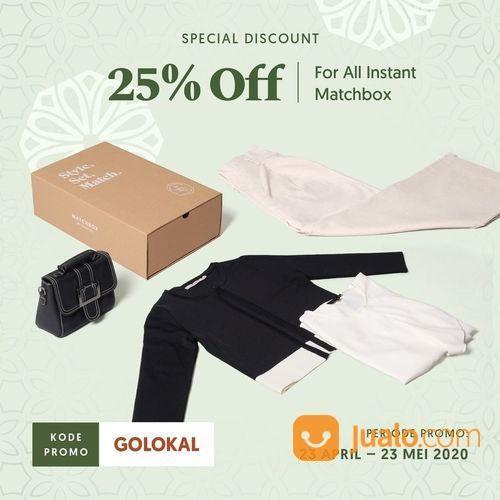 Yuna & Co. 25% Off Promo Code For ALL Instant Matchbox (25802851) di Kota Jakarta Selatan