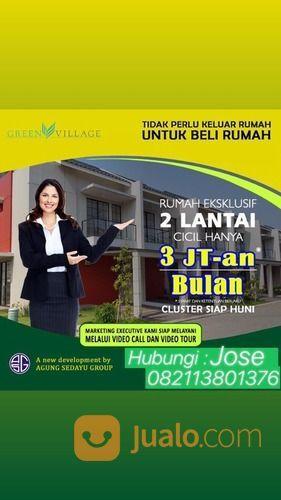 Rumah Cluster Ternyaman Green Village By Agung Sedayu (25807435) di Kota Tangerang