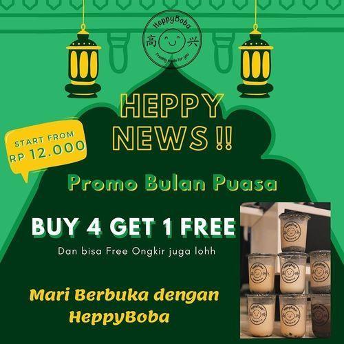 HeppyBoba BUY 4 get 1 FREE + free ongkir (25809879) di Kota Jakarta Selatan