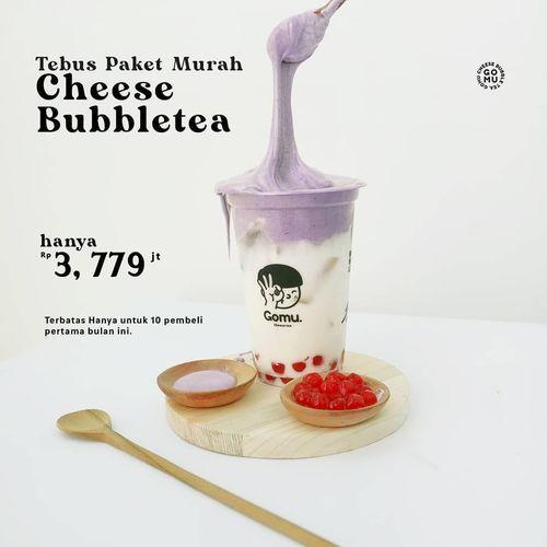 Gomu Cheese Bubble Tee - Tebus Paket Murah (25811603) di Kota Jakarta Selatan