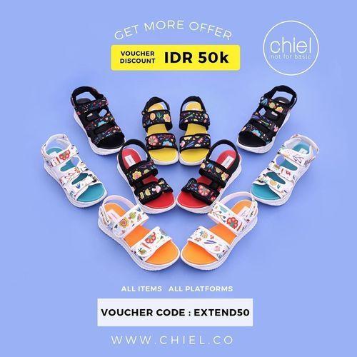Kode Voucher CHIEL Shoes IDR 50.000 (25811667) di Kota Jakarta Selatan