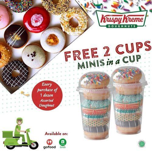 Krispy Kreme Free 2 Cups Minis In A Cup (25812299) di Kota Jakarta Selatan