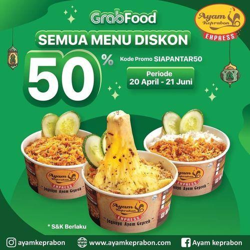 Ayam Keprabon Semua Menu Diskon 50% (25812303) di Kota Jakarta Selatan