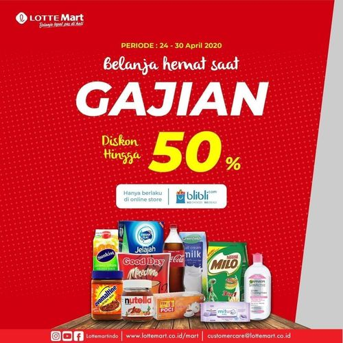 LotteMart Belanja Hemat Saat Gajian Hemat Hingga 50% (25812759) di Kota Jakarta Selatan