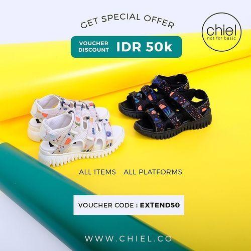 CHIEL Shoes SPECIAL OFFER POTONGAN RP 50k (25813115) di Kota Jakarta Selatan