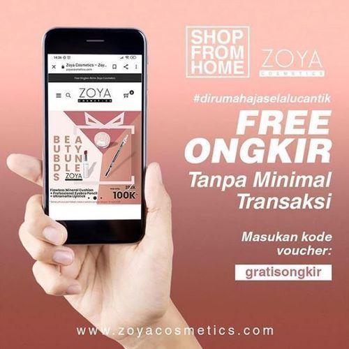 Zoya Cosmetic - Promo Free Ongkir (25813131) di Kota Jakarta Selatan