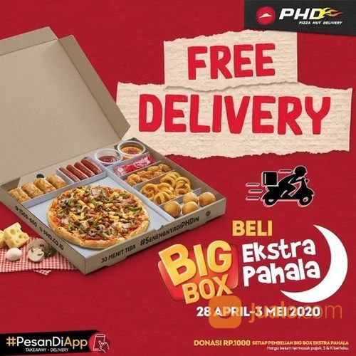 PHD FREE DELIVERY PROMO (25820707) di Kota Jakarta Selatan