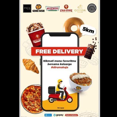 Cold Stone Creamery Free Delivery Promo (25820991) di Kota Jakarta Selatan