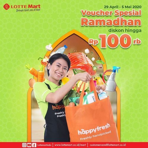 LotteMart Voucher Spesial Ramadhan (25824075) di Kota Jakarta Selatan